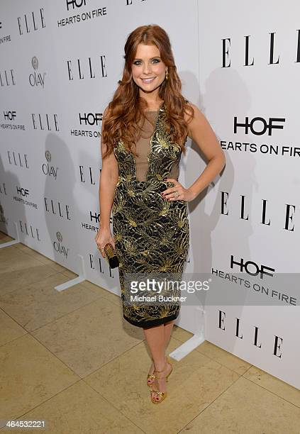 Actress JoAnna Garcia Swisher attends ELLE's Annual Women in Television Celebration on January 22 2014 in West Hollywood California