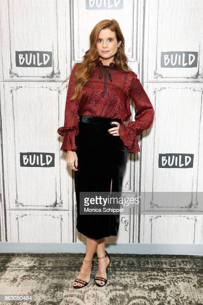 Actress JoAnna Garcia Swisher discusses the show 'Kevin Saves The World' at Build Studio on October 19 2017 in New York City