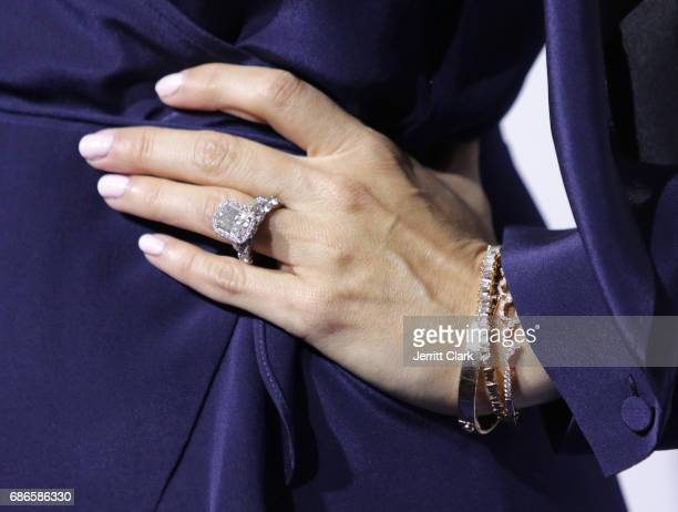 Actress JoAnna Garcia Swisher ring detail during the 2017 ABC/Disney Media Distribution International Upfront at Walt Disney Studio Lot on May 21...