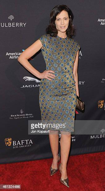 Actress Joanna Going arrives at the 2015 BAFTA Tea Party at The Four Seasons Hotel on January 10 2015 in Beverly Hills California