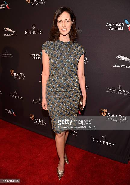 Actress Joanna Going attends the BAFTA Los Angeles Tea Party at The Four Seasons Hotel Los Angeles At Beverly Hills on January 10 2015 in Beverly...