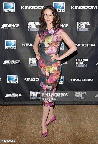 Actress Joanna Going attends the DIRECTV's presentation of KINGDOM at the 2015 Summer TCA Press Tour at The Beverly Hilton Hotel on August 9 2015 in...