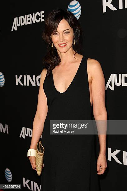 Actress Joanna Going celebrates the season premiere of DIRECTV's KINGDOM on October 6 2015 in West Hollywood California