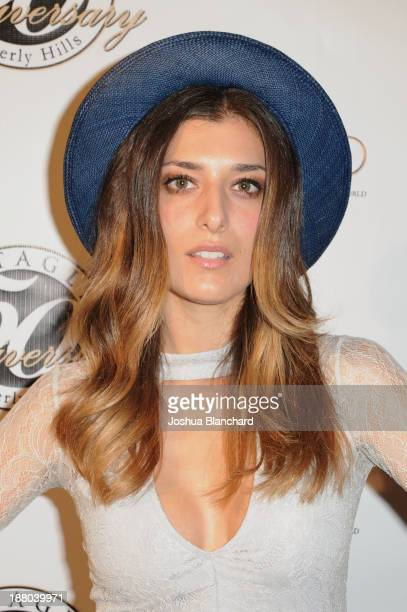 Actress Joanna Janetakis arrives at Battaglia's 50th Anniversary of Quality and Elegance Celebration on November 14, 2013 in Beverly Hills,...