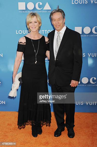 Actress Joanna Kerns and Marc Appleton arrive at the 2015 MOCA Gala presented by Louis Vuitton at The Geffen Contemporary at MOCA on May 30 2015 in...