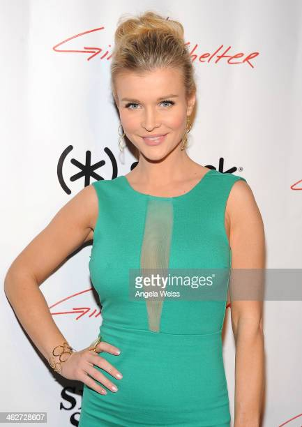 Actress Joanna Krupa arrives at the screening of Roadside Attractions Day 28 Films 'Gimme Shelter' at the Egyptian Theatre on January 14 2014 in...