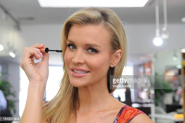 "Actress Joanna Krupa attends HolllyScoop's ""Beauty For Hope"" Supporting Breast Cancer Awareness Month at Gavert Atelier salon on October 17, 2012 in..."