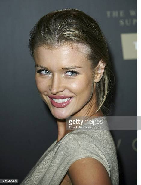 Actress Joanna Krupa attends Trump Vodka launch party at Les Deux on January 17, 2007 in Los Angeles, California.