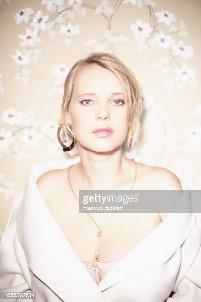 Actress Joanna Kulig is photographed for Plugged, on September, 2018 in Paris, France. . .