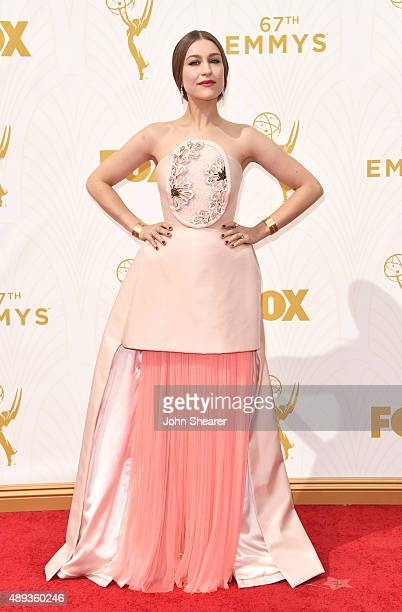 Actress Joanna Newsom attends the 67th Annual Primetime Emmy Awards at Microsoft Theater on September 20 2015 in Los Angeles California