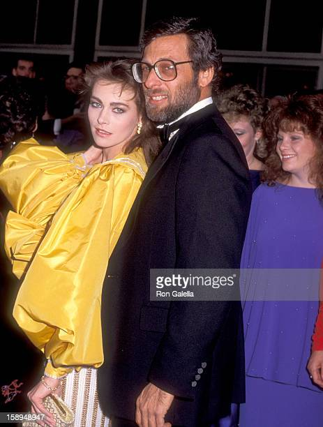 Actress Joanna Pacula and producer Howard Koch Jr attend the 56th Annual Academy Awards on April 9 1984 at Dorothy Chandler Pavilion in Los Angeles...