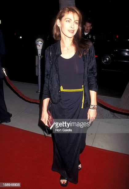 Actress Joanna Pacula attends A Thousand Acres Beverly Hills Premiere on September 15 1997 at Samuel Goldwyn Theatre in Beverly Hills California