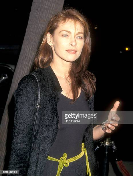 Actress Joanna Pacula Attends A Thousand Acres Beverly Hills Premiere On September 15 1997