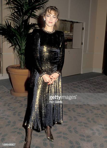 Actress Joanna Pacula attends the 38th annual Directors Guild of America Awards on March 8 1986 at Beverly Hilton Hotel in Beverly Hills California
