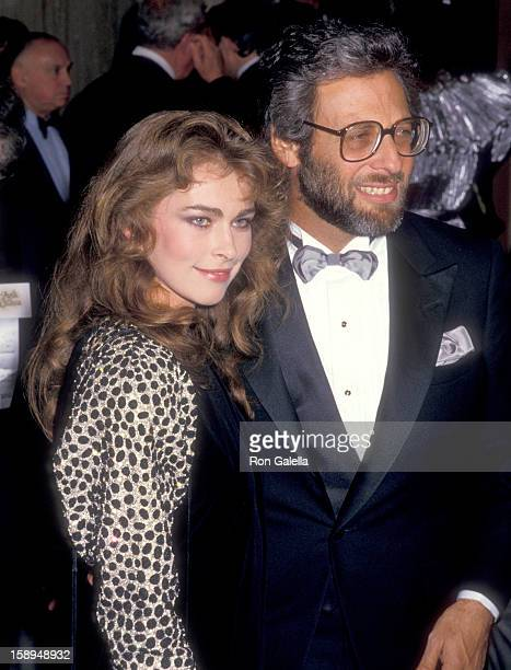 Actress Joanna Pacula attends the 44th Annual Golden Globe Awards on January 31 1987 at Beverly Hilton Hotel in Beverly Hills California
