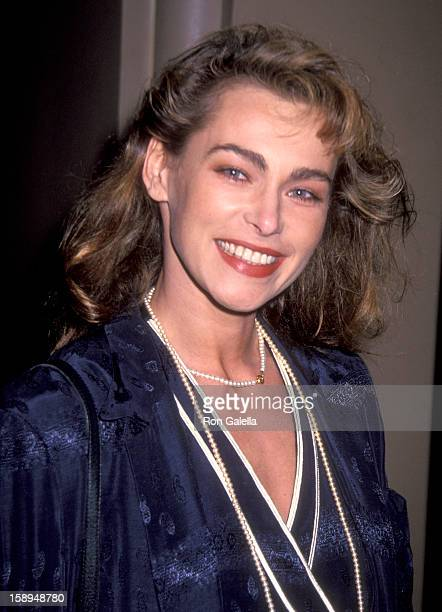 Actress Joanna Pacula attends the American Cancer Society Honors Herbert Ross on March 16 1993 at Regent Beverly Wilshire Hotel in Beverly Hills...