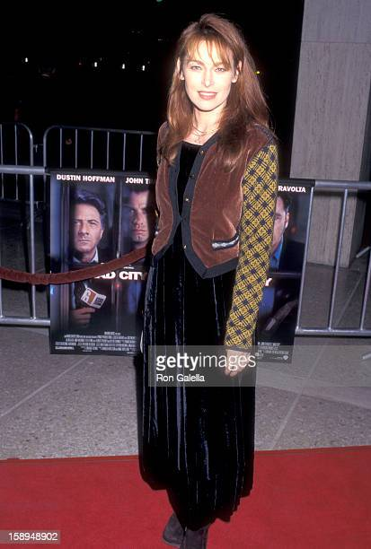 Actress Joanna Pacula attends the Mad City Century City Premiere on October 27 1997 at Cineplex Odeon Century Plaza Cinemas in Century City California