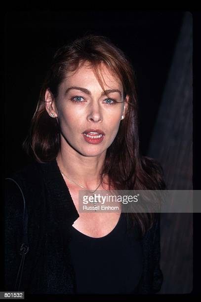 Actress Joanna Pacula attends the premiere of the film A Thousand Acres September 15 1997 in Los Angeles CA A Thousand Acres was based on a novel by...