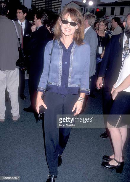 Actress Joanna Pacula attends the Saving Private Ryan Westwood Premiere on July 21 1998 at Mann Village Theatre in Westwood California