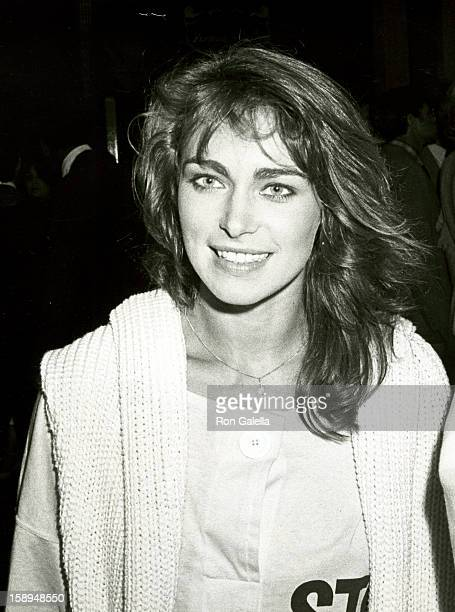 Actress Joanna Pacula attends the Sheena Century City Premiere on August 14 1984 at Plitt's Century Plaza Theatres in Century City California