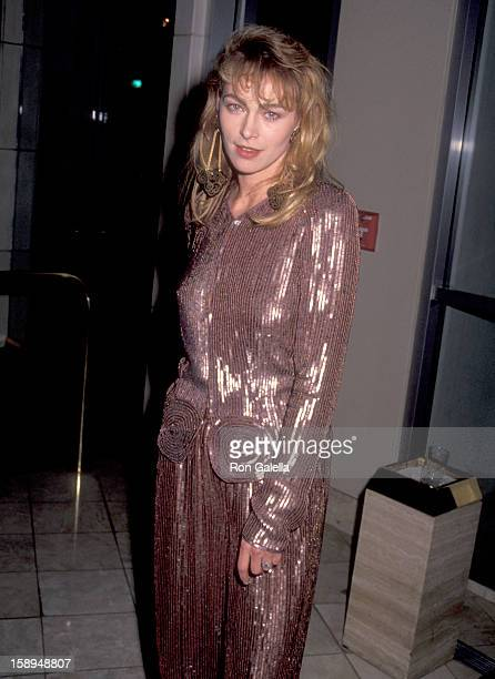 Actress Joanna Pacula attends the Sixth Annual American Cinematheque Award Salute to Martin Scorsese on March 22 1991 at Century Plaza Hotel in Los...
