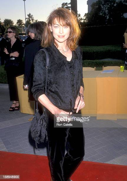 Actress Joanna Pacula attends the Snake Eyes Hollywood Premiere on July 30 1998 at Paramount Studios in Hollywood California
