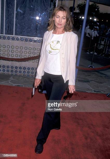 Actress Joanna Pacula attends the Space Cowboys Westwood Premiere on July 1 1990 at Mann Village Theatre in Westwood California