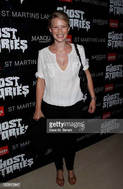 Actress Joanna Page attends the Ghost Stories Press Night Party held on July 14 2010 at the St Martins Lane Hotel in London England