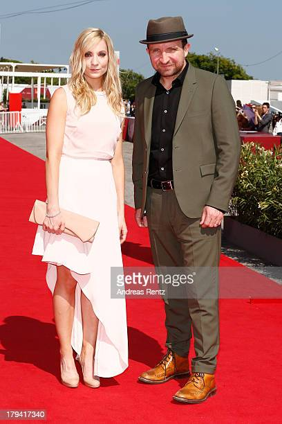 Actress Joanne Froggatt and actor Eddie Marsan attends the 'Still Life' Premiere during the 70th Venice International Film Festival at the Palazzo...