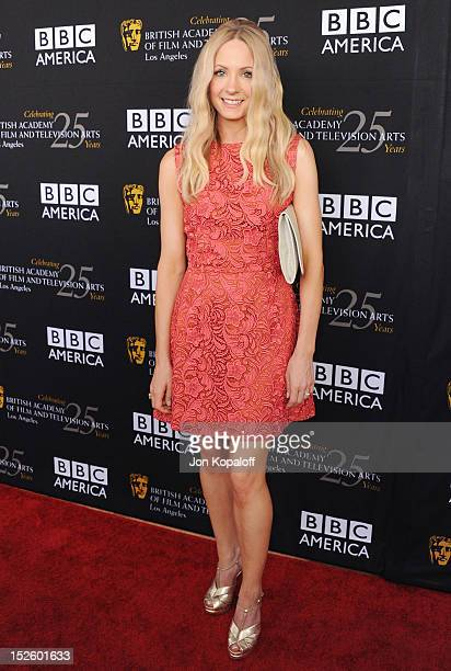 Actress Joanne Froggatt arrives at the BAFTA Los Angeles TV Tea 2012 Presented By BBC America at The London Hotel on September 22, 2012 in West...