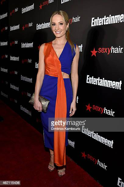Actress Joanne Froggatt attends Entertainment Weekly's celebration honoring the 2015 SAG awards nominees at Chateau Marmont on January 24 2015 in Los...