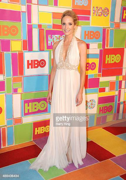 Actress Joanne Froggatt attends HBO's 2014 Emmy after party at The Plaza at the Pacific Design Center on August 25 2014 in Los Angeles California