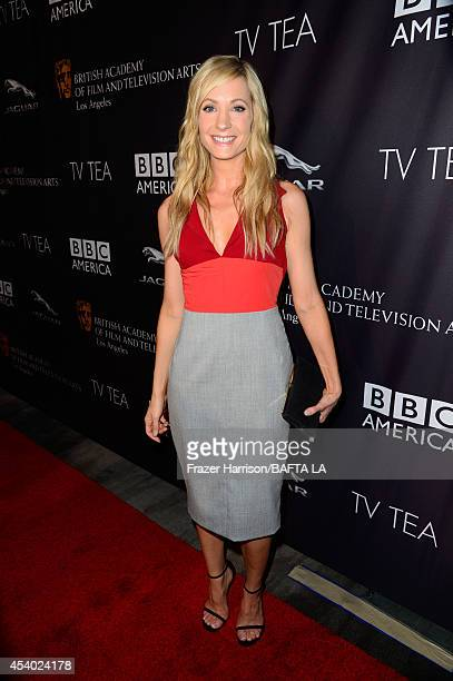 Actress Joanne Froggatt attends the 2014 BAFTA Los Angeles TV Tea presented by BBC America And Jaguar at SLS Hotel on August 23, 2014 in Beverly...