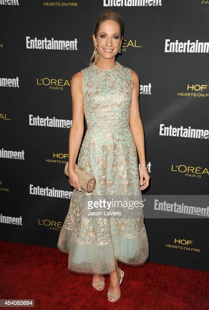 Actress Joanne Froggatt attends the 2014 Entertainment Weekly preEmmy party at Fig Olive Melrose Place on August 23 2014 in West Hollywood California