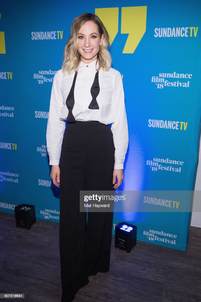 Actress Joanne Froggatt attends the 2018 Sundance Film Festival Official Kickoff Party Hosted By SundanceTV at Sundance TV HQ on January 19, 2018 in Park City, Utah.