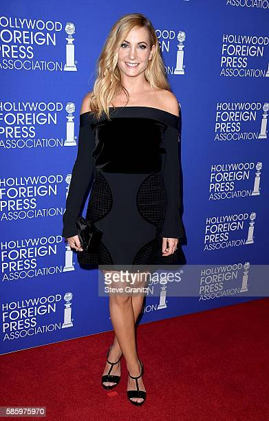 Actress Joanne Froggatt attends the Hollywood Foreign Press Association's Grants Banquet at the Beverly Wilshire Four Seasons Hotel on August 4 2016...