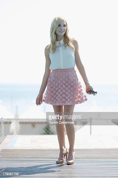 Actress Joanne Froggatt poses during a portrait session at the 70th Venice International Film Festival on September 4 2013 in Venice Italy