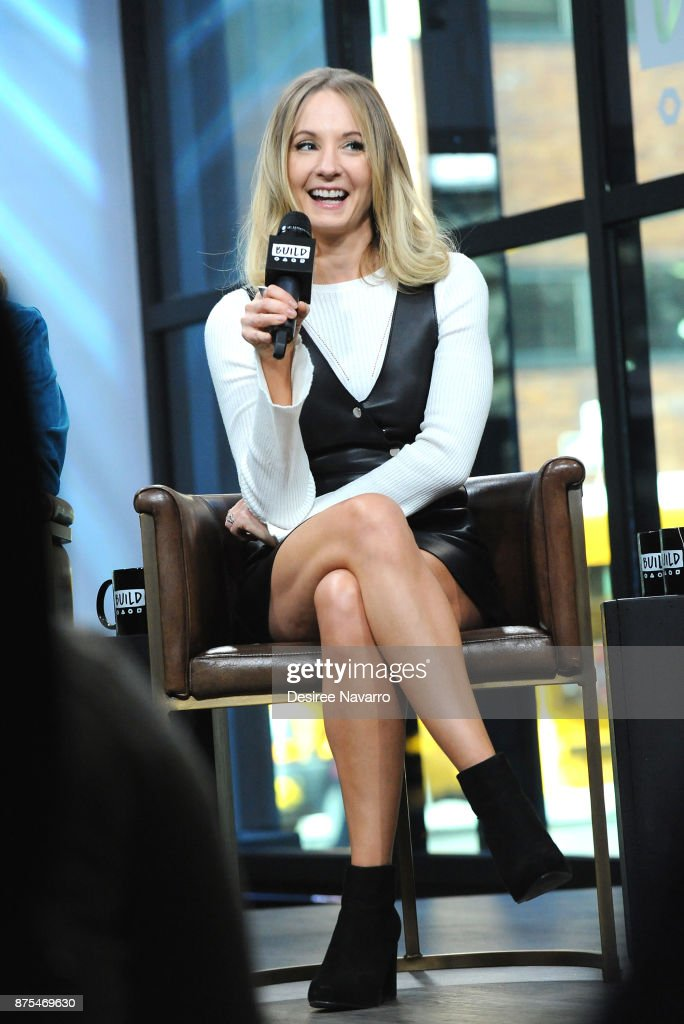 Actress Joanne Froggatt visits Build Series to discuss 'Downton Abbey: The Exhibition' at Build Studio on November 17, 2017 in New York City.