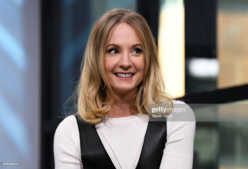 Actress Joanne Froggatt visits Build to discuss 'Downton Abbey: The Exhibition' at Build Studio on November 17, 2017 in New York City.