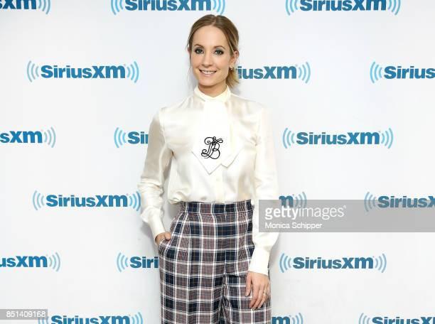 Actress Joanne Froggatt visits SiriusXM Studios on September 22 2017 in New York City