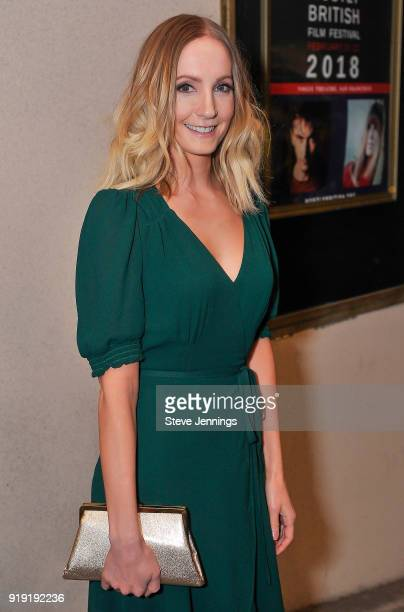Actress Joanne Froggett attends the Mostly British Film Festival 2018 for a tribute and screening of 'A Crooked Somebody' at Vogue Theatre on...