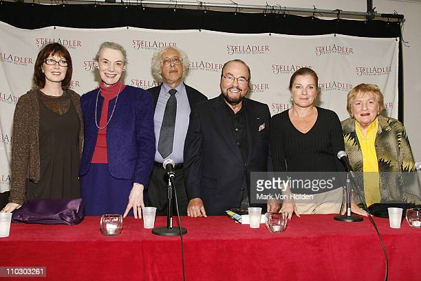 Actress Joanne Gleason Actress Marian Seldes Actor Howard Kissel Actor James Lipton Actress Kate Mulgrew and Actress Betsy Parrish attends the 2nd...