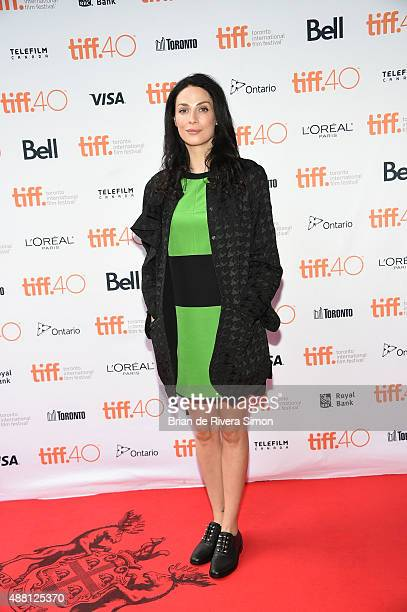 Actress Joanne Kelly attends Closet Monster photo call during the 2015 Toronto International Film Festival at Ryerson Theatre on September 13 2015 in...