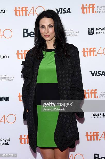 Actress Joanne Kelly attends the Closet Monster photo call during the 2015 Toronto International Film Festival at Ryerson Theatre on September 13...