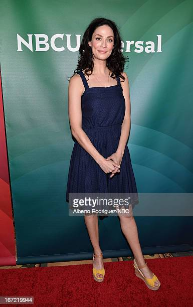 Actress Joanne Kelly attends the NBC Universal Summer 2013 Press Day at Langham Hotel on April 22, 2013 in Pasadena, California.