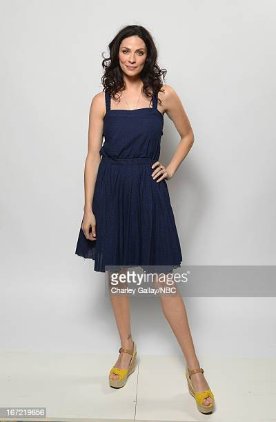 Actress Joanne Kelly poses for a portrait at the NBC Universal Summer 2013 Press Day at Langham Hotel on April 22, 2013 in Pasadena, California.