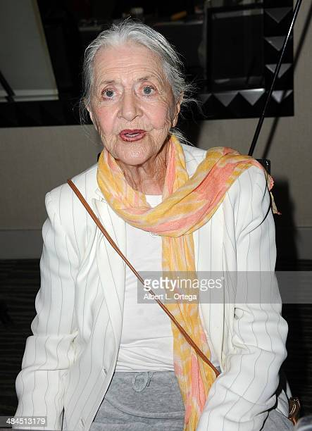 Actress Joanne Linville attends The Hollywood Show 2014 held at Westin LAX Hotel on April 12 2014 in Los Angeles California