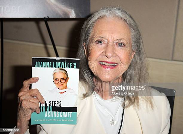Actress Joanne Linville on day 1 of The Hollywood Show held at The Westin Hotel LAX on August 1 2015 in Los Angeles California