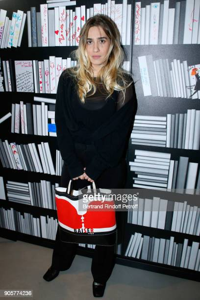 Actress Joanne Palmaro attends the Manifesto Sonia Rykiel 5Oth Birthday Party at the Flagship Store Boulevard Saint Germain des Pres on January 16...