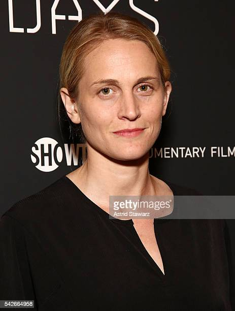 Actress Joanne Tucker attends Zero Days New York Premiere at New York Institute of Technology on June 23 2016 in New York City